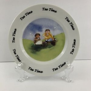 Erika Oller House of Prill Golf Plate Tee Time